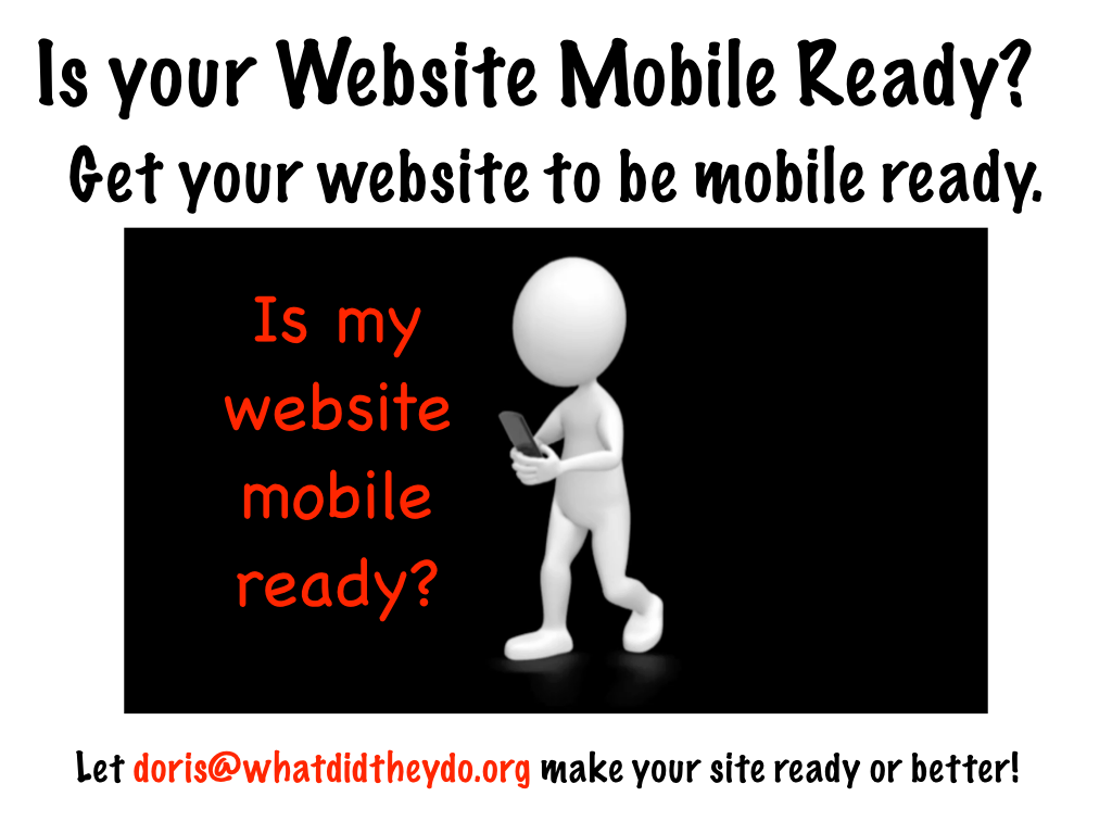 Is your Website Mobile Ready3